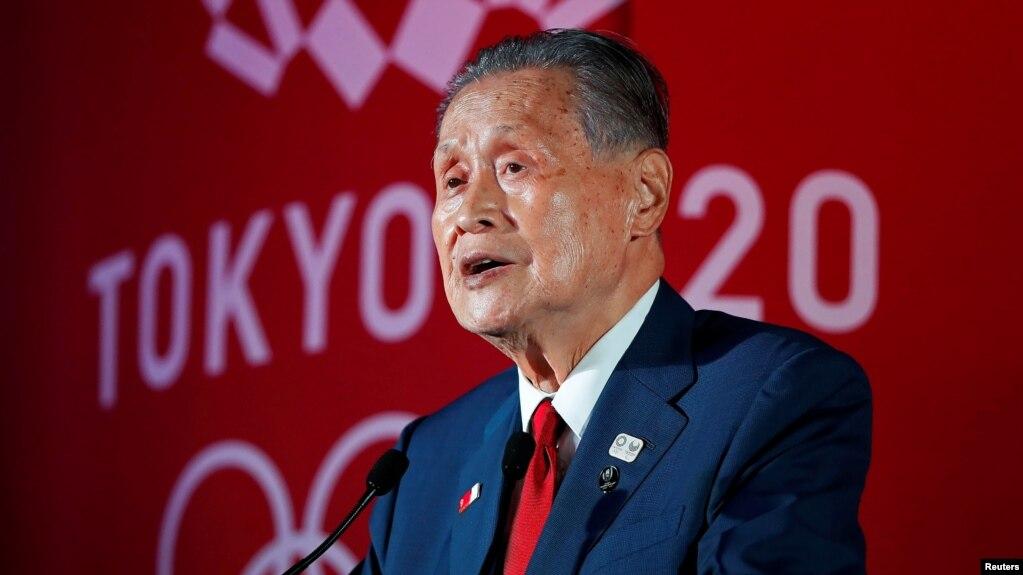 资料照:东京奥运组委会主席森喜朗