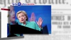 Manchetes Americanas 13 Setembro: Donald Trump ganha terreno a Hillary Clinton