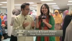 Iftar dan Taraweh Warga Muslim Indonesia di Washington DC (1)