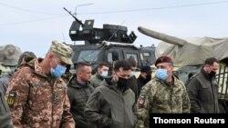 지난달 블로디미르 젤렌스키 우크라이나 대통령이 크림반도를 방문했다.