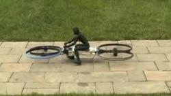Летающий мотоцикл: с ветерком
