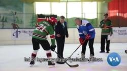Kenya's Ice Lions Meet Legendary Russian Player