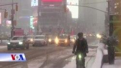 Mỹ tiếp tục chống chọi với bão tuyết