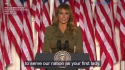 First Lady Melania Trump RNC Speech: August 25, 2020