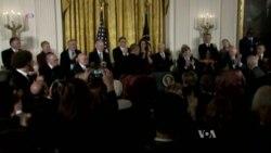 Obama Awards Highest Civil Honor for Final Time