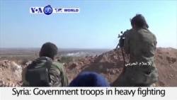 VOA60 World - Syria: Government troops in heavy fighting with al-Qaida allied forces near Aleppo