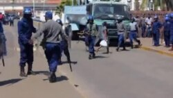 Heavy Police Presence In Zimbabwe City Streets As Police Anticipate Citizen Resistance
