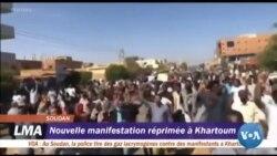 Manifestation au Soudan