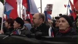 Hàng chục ngàn người Nga tuần hành tưởng nhớ lãnh đạo đối lập Boris Nemtsov