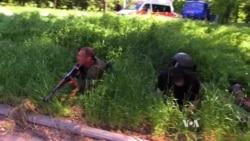 Ukraine Government, Pro-Russian Militants Battle for Donetsk Airport