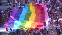 Diễn hành LGBT đầy màu sắc ở Brazil