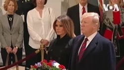 ԱՌԱՆՑ ՄԵԿՆԱԲԱՆՈՒԹՅԱՆ. Դոնալդ և Մելանիա Թրամփները հարգանքի տուրք են մատուցել ԱՄՆ-ի 41-րդ նախագահ Ջորջ Բուշ ավագի հիշատակին