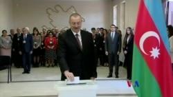 2018-04-12 美國之音視頻新聞: 阿塞拜疆執政14年總統再次贏得連任選舉