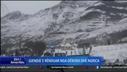 Kushte të rënduara të motit në Shqipërinë veriore