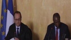 法國總統訪問畿內亞 關注伊波拉