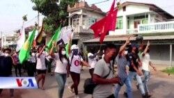 Myanmar không ăn mừng năm mới, tiếp tục biểu tình