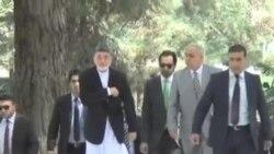 کانفرانس مطبوعاتی رئیس جمهور افغانستان
