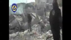美國空襲打擊敘利亞恐怖分子