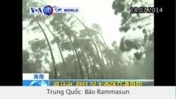 Bão Rammasun tàn phá tỉnh Hải Nam (VOA60)