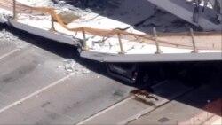 Жртви по уривањето на мост во Мајами, Флорида