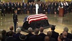 У ротонді Капітолію США прощаються с Джоном Маккейном. Відео