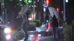 熱帶風暴浪卡侵襲日本西部兩人喪生