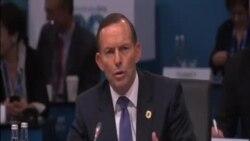 G20峰會開幕 澳總理呼籲集中關注經濟