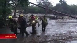 California: Lở đất, ít nhất 15 người chết