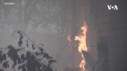 北加州納帕酒鄉再度爆發野火