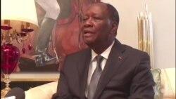 Alassane Ouattara affirme qu'il n'y a pas de crise avec Guillaume Soro (vidéo)