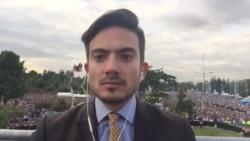 Bryan Cruz informa desde el Parque Simón Bolívar