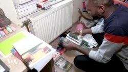 Le libraire de Kinshasa mène un combat solitaire