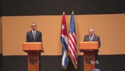 Full News Conference: US President Obama, Cuban President Castro