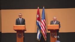 Full News Conference: US President Obama, Cuban President Castro