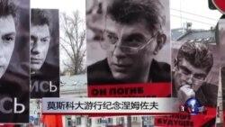 莫斯科大游行纪念涅姆佐夫