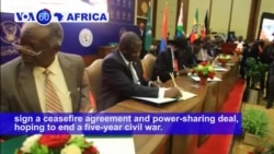 VOA60 Africa - South Sudan leaders agreed to end hostilities
