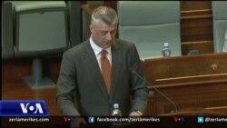 Fjalimi i Thaçit në Parlament
