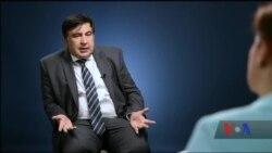 Ексклюзивне інтерв'ю: Саакашвілі – про свій статус у США та підтримку України на Капітолійському пагорбі. Відео