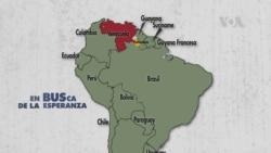 """Venezolana en Guyana: """"Mi país es un infierno"""""""