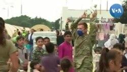 Lính Mỹ giúp trẻ em tị nạn Afghanistan thích nghi tại căn cứ không quân Ramstein