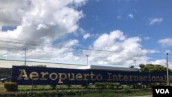 Aeropuerto Internacional de Managua, Nicaragua.