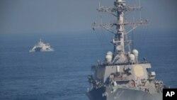 ناو مجهز به موشکهای هدایت شونده یواساس میچر