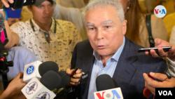 ARCHIVO - Noel Vidaurre, aspirante presidencial para los comicios del 7 de noviembre de 2021 en Nicaragua.