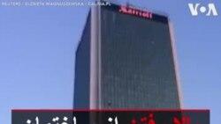 بالا رفتن از ساختمان ۱۷۰ متری در لهستان بدون طناب