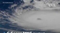 Ураган «Дориан». Вид с борта МКС