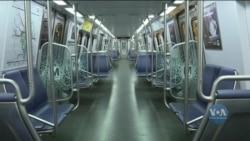 Карантин у столиці США: як працює метро? Відео
