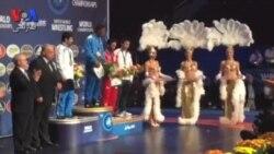 مراسم اهدای جوایز وزن ۶۵ کیلوگرم کشتی آزاد قهرمانی جهان ۲۰۱۵