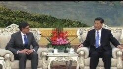 2013-03-19 美國之音視頻新聞: 習近平晤美國財長傑克盧