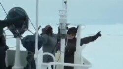 中國破冰船南極受阻