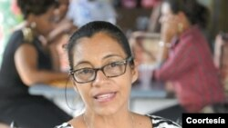 La activista Lottie Cunningham ha sido durante años la defensora de los territorios de las comunidades indígenas de la Costa Caribe de Nicaragua. Foto cortesía - La Prensa